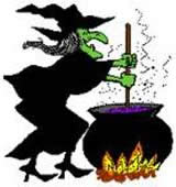 A Witch is cooking!