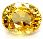 Yellow Golden Zircon from Africa