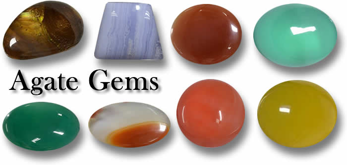 Agate Gemstones at GemSelect