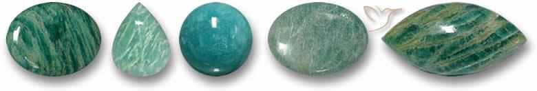 Pedras da amazonita