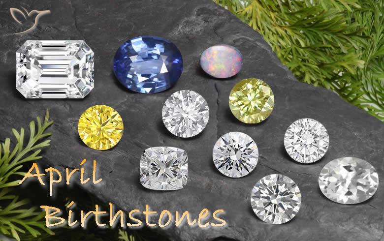 April Birthstones at GemSelect