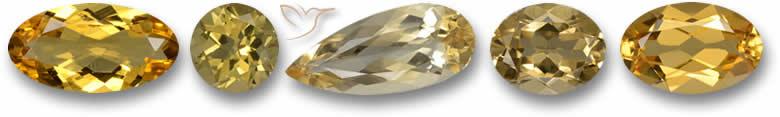 Pedras preciosas de berilo