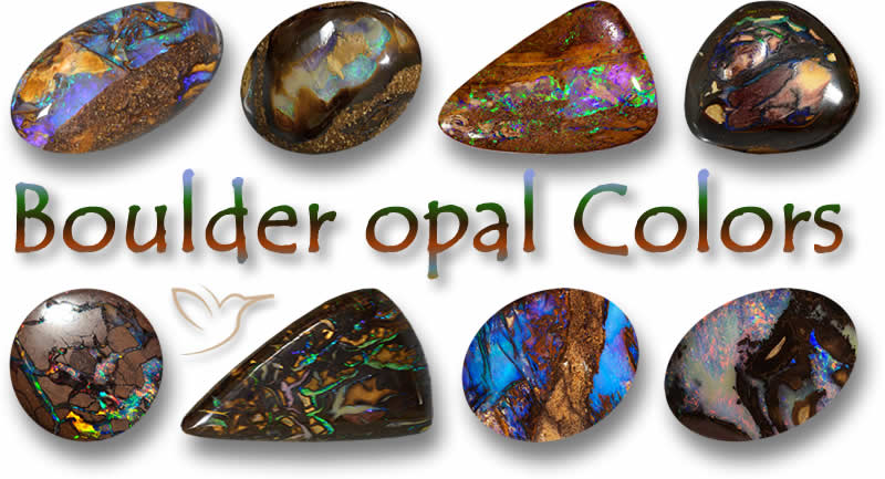Chunky Opal Boulder Opal Bead Rectangular Opal With Pretty Yellow Coloring