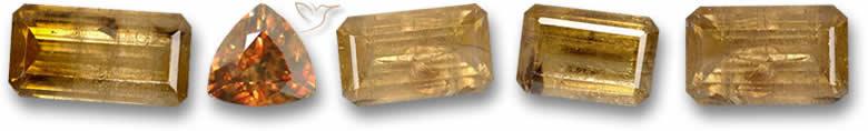Pedras de cassiterita