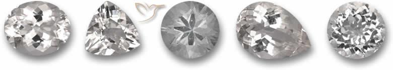 Pedra preciosa goshenita