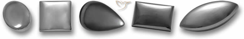 Pedras preciosas de hematita