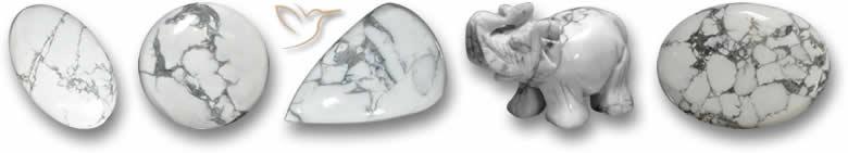 Pedras preciosas Howlite