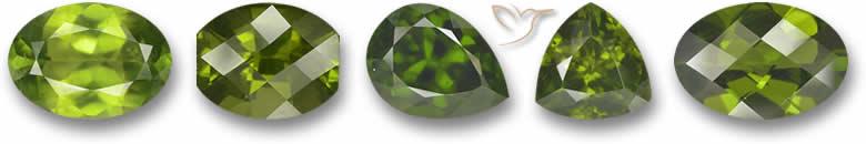 Idocrase gemstones