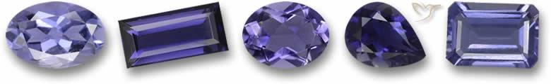Pedras preciosas Iolite