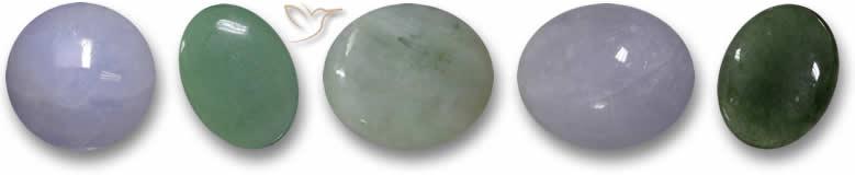 Pedras de jade