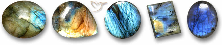 Pedras preciosas de labradorita