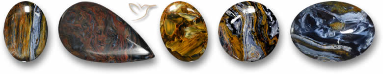 Pedras preciosas Pietersite