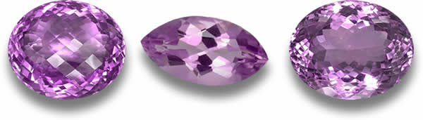 Raspberry / Plum colored amethyst