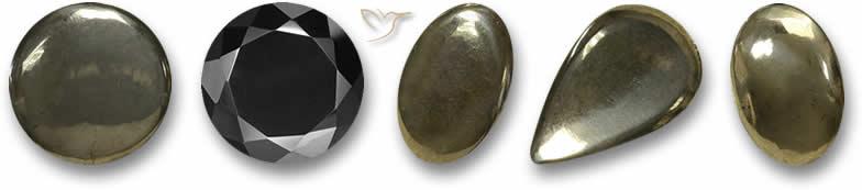 Pedras preciosas pirita