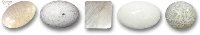 Pedras preciosas Scolecite