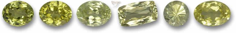 Pedras de sillimanita