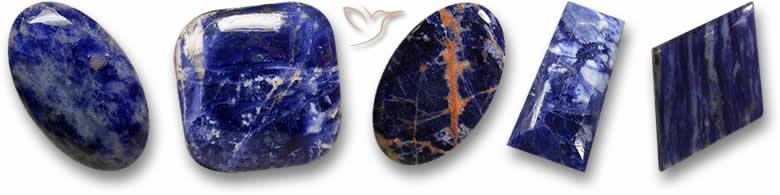 Pedras de sodalita