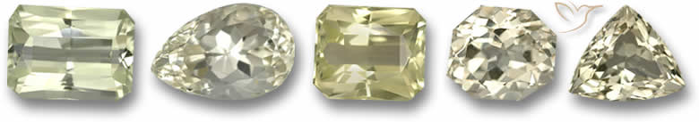 Pedras preciosas Spodumena