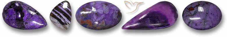 Pedras preciosas Sugilite