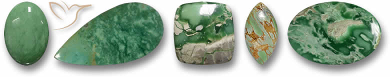 Pedras preciosas variscitas