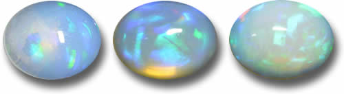 White Opal at GemSelect