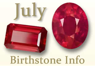 July Birthstone Information
