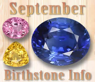 September Birthstone Information