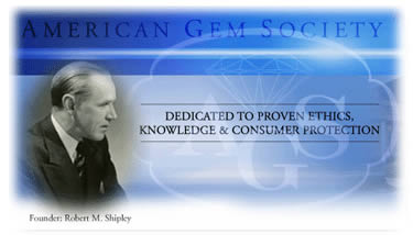 Robert. M Shipley the founder of American Gem Society (AGS)