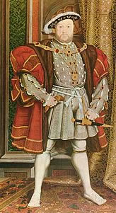 Mary's father King Henry the 8th