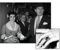 Liz Taylor Engagement Ring