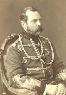 Tsar Alexander the II