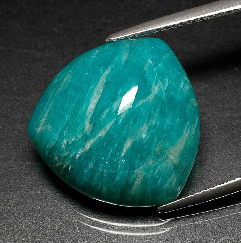 amazonite blue gem jewelry information