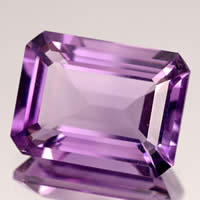 Amethyst Emerald Cut