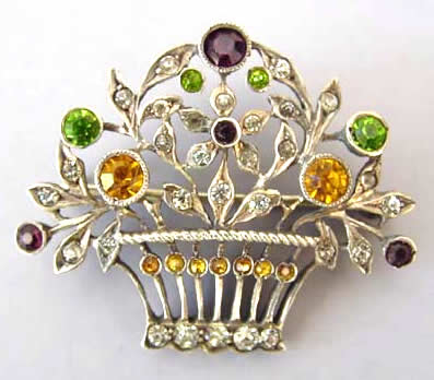 Antique Paste Brooch