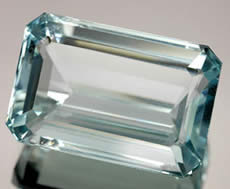 Natural Blue Aquamarine