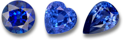 Blue Sapphires from GemSelect