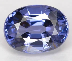 Blue Spinel from Tanzania