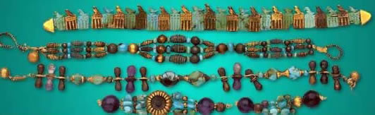 Bracelets from the tomb of Djer
