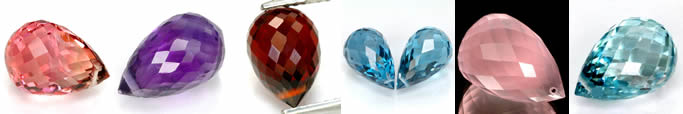 Buy all kind of Gemstone Briolettes at GemSelect