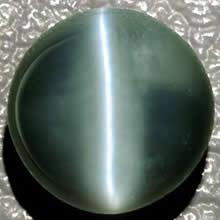 Gray Cat S Eye Stone