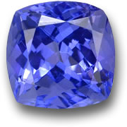 Cushion Tanzanite from GemSelect