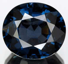 Deep Blue Spinel from Tanzania