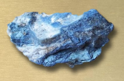 Dumortierite Rough from Madagascar