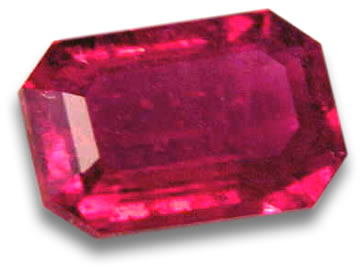 Faceted Red Beryl / Bixbite