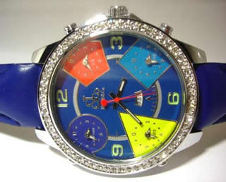 Five Timezone Watch