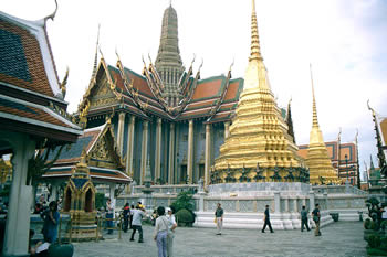 Grand Palace in Bangkok / Thailand