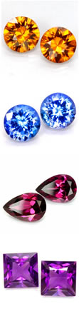 Matching Gemstone Pairs at GemSelect
