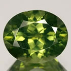 Green Zircon from Sri Lanka