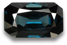 Greenish Blue Spinel from Tanzania