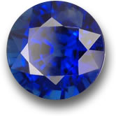 Heated Blue Sapphire from Madagascar